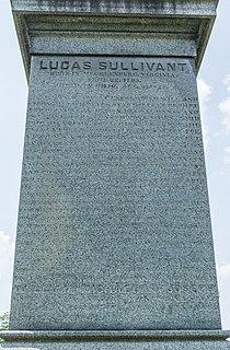 Lucas Sullivant American surveyor