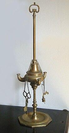 Lucerna ad olio del XVII secolo 0ed89447df2