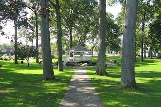 Ludlow, Massachusetts - Ludlow Town Green