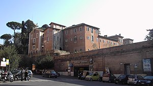 Sant'Isidoro a Capo le Case - Monastic buildings of Sant'Isidoro