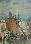 Ludwig Dill - Fischerboote in Venedig.jpg