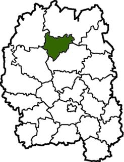 Luhyny Raion Former subdivision of Zhytomyr Oblast, Ukraine