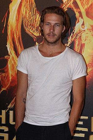 Luke Bracey - Bracey at the premiere of The Hunger Games in Sydney in 2012