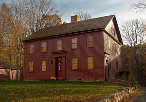 National Register of Historic Places listings in Southington, Connecticut - Image: Luman Andrews House