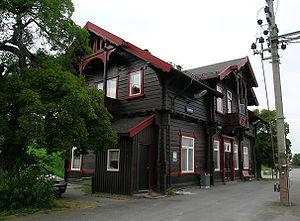 Gjøvik Line - Lunner Station