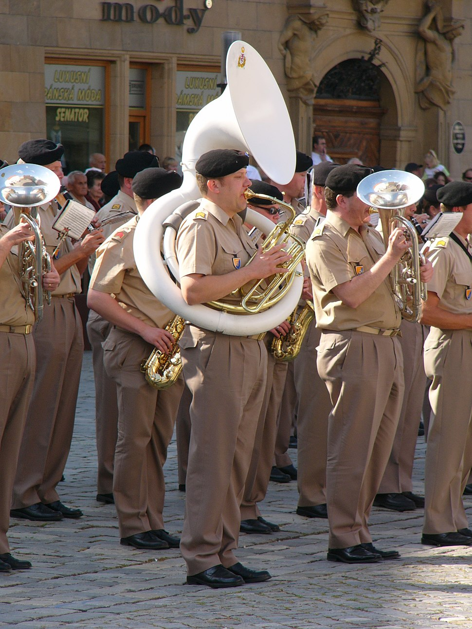 Luxembourg military band