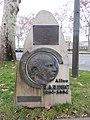 Lyon 2e - Mémorial à Allan Kardec quai Gailleton 1 (janv 2019).jpg