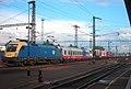 MÁV 1047 Kecskemét állomáson egy RoLa vonattal.jpg