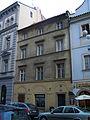 Městský dům U tří Uhrů (Staré Město), Praha 1, Linhartská 4, Staré Město.JPG