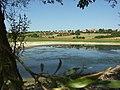 Mšecké Žehrovice, vypuštěný rybník.JPG
