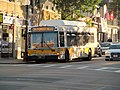MBTA route 34 bus at Roslindale Square, September 2016.JPG