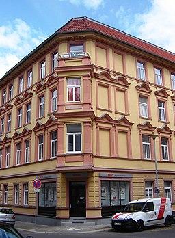 Gartenstraße in Magdeburg