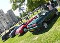 MG line-up at Lulworth Castle. (34670662876).jpg