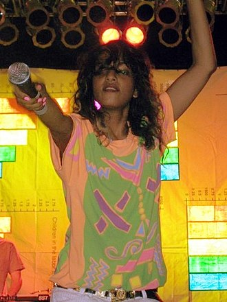 M.I.A. (rapper) - M.I.A. performing on the People vs. Money Tour