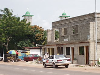 Religion in Gabon - Mosque in Port-Gentil Gabon
