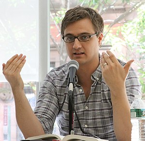 Chris Hayes (journalist) - Image: MSNBC host Chris Hayes on 2012 Brooklyn Book Festival panel (8024131849)