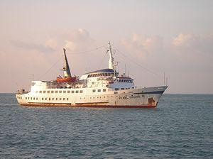 MV Pearl Cruise II Sri Lankan troop transport vessel