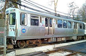 O'Hare station train crash - A 2600 series train, similar to that involved in the accident.