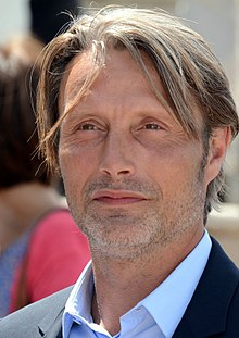 Mads Mikkelsen - the hot, enigmatic, tough,  celebrity, tv-personality, actor, dancer,   with Danish roots in 2019