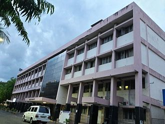 Madurai - Front view of the corporation office