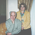 Maestro Eugen Doga with his wife. (5480858043).jpg