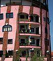 Magdeburg-Hundertwasserhaus Grüne Zitadelle 02.jpg