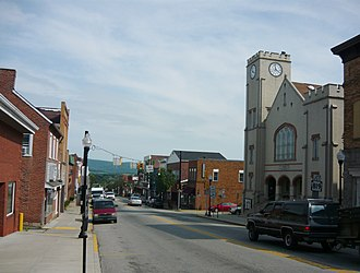 Mount Pleasant, Pennsylvania - Main Street