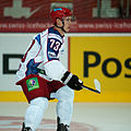 Maksim Chudinov - Switzerland vs. Russia, 8th April 2011 (2).jpg