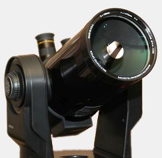 "Maksutov telescope - Meade ETX ""spot"" Maksutov–Cassegrain."