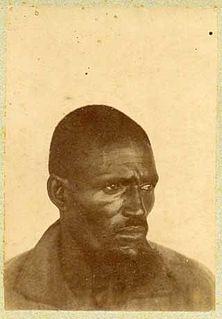 Malamine Camara Senegalese sergeant