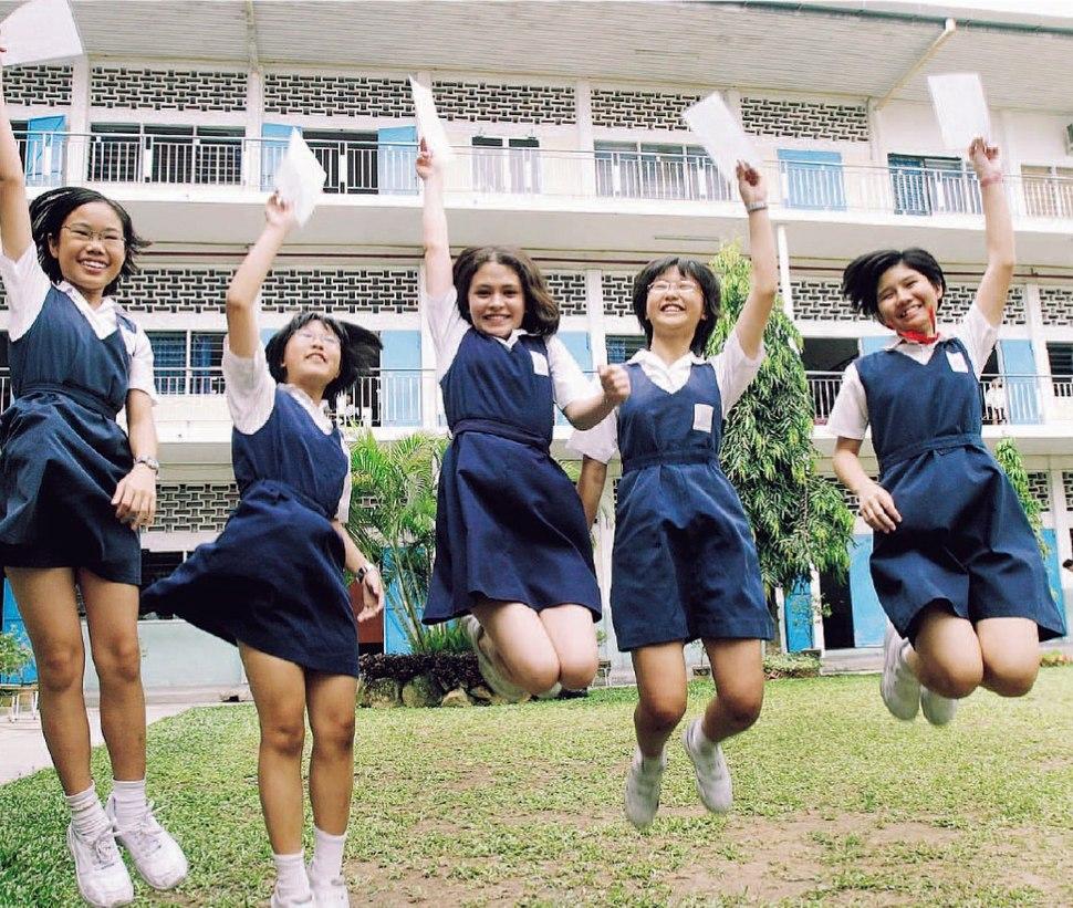 Malaysia Primary School Girls