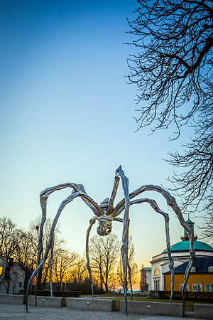Maman (sculpture) - Image: Maman at Stockholm, Sweden
