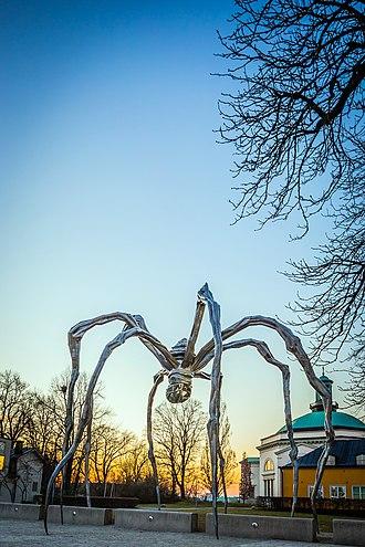 Maman (sculpture) - Image: Maman at Stockholm, Sweden