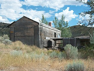 Semi-ghost town in Utah, United States