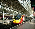 Manchester Piccadilly station & Virgin Pendolino - April 11 2005.jpg