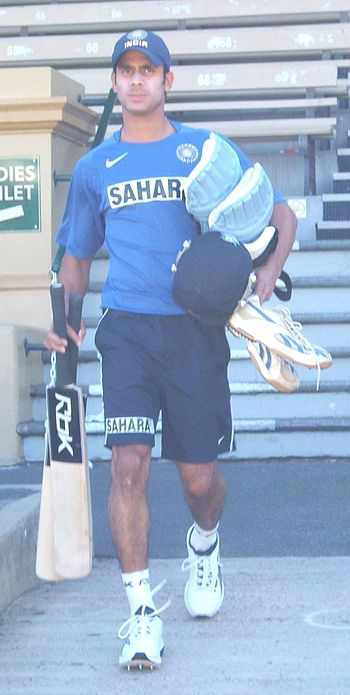 Manoj Tiwary at Adelaide Oval