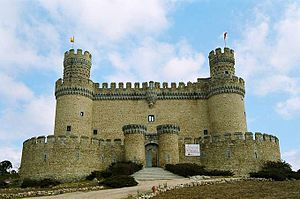 Community of Madrid - Castle of Manzanares el Real