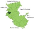 Map Hirogawa, Wakayama en.png