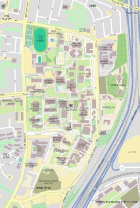 איך מגיעים באמצעות תחבורה ציבורית אל הגנים הבוטניים של אוניברסיטת תל אביב? - מידע על המקום