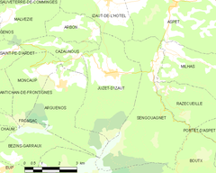 Map commune FR insee code 31245.png