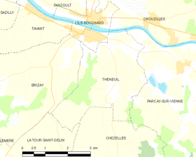 Map commune FR insee code 37256.png