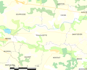 Map commune FR insee code 40318.png