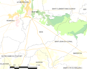 Map commune FR insee code 50056.png