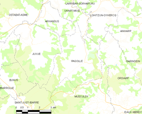 Map commune FR insee code 64441.png