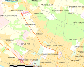 Map commune FR insee code 95607.png