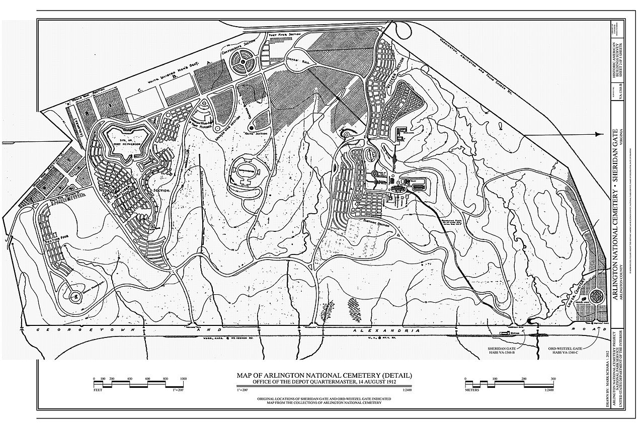 File:Map of Arlington National Cemetery - 1912-08-12.jpg - Wikimedia ...