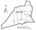 Map of Union County, Pennsylvania No Text.png