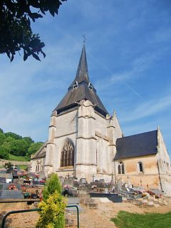 Marais-Vernier Commune in Normandy, France