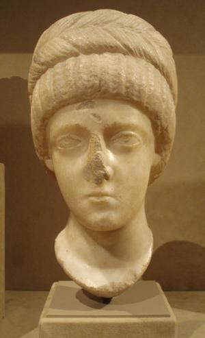 Aelia Flaccilla - Bust thought to represent Flaccilla