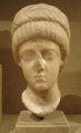 Marble bust, 4th century, possibly Flaccilla.png